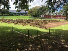 Earthworks undertaken by ADAMANT Builders at Marrara for the 2015 Davis Cup