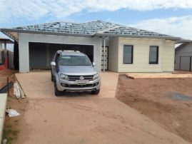 An ADAMANT Builders home - roof to come.